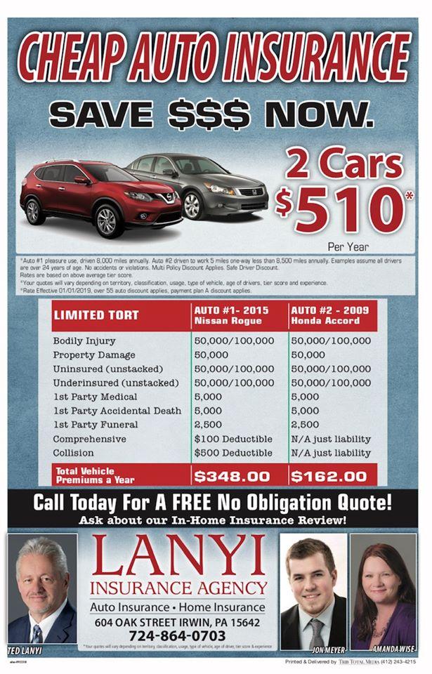 Erie Insurance-Lanyi Insurance AgencyInsurance Broker…