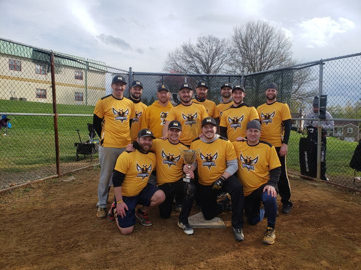 The Lanyi Insurance softball team took home 1st Place at their opening season to
